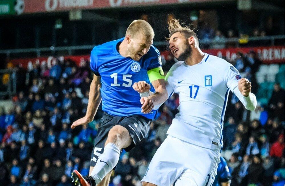 Eesti ja Kreeka kohtusid Tallinnas viimati omavahel 2016. aasta 10. oktoobril, kui kreeklased lahkusid siit 2 : 0 võiduga. Aasta hiljem Piraeuses saavutati aga 0 : 0 viik.