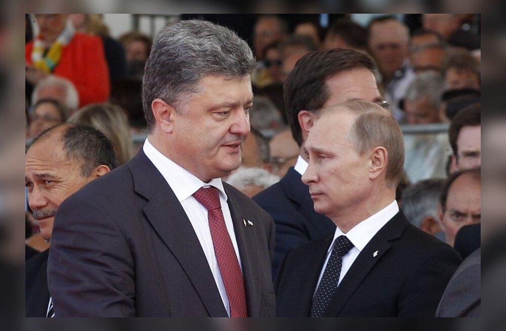 Vladimir Putin ja Petro Porošenko