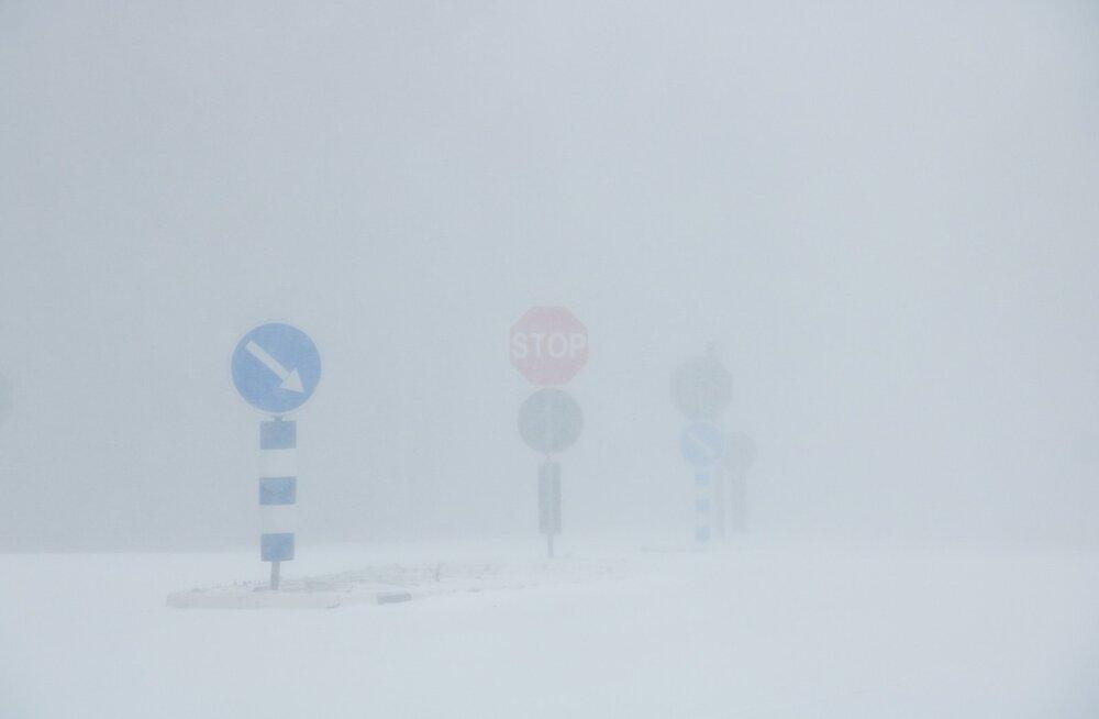 Neljapäeva õhtul asub Soomes laastamistööd tegema lumetorm