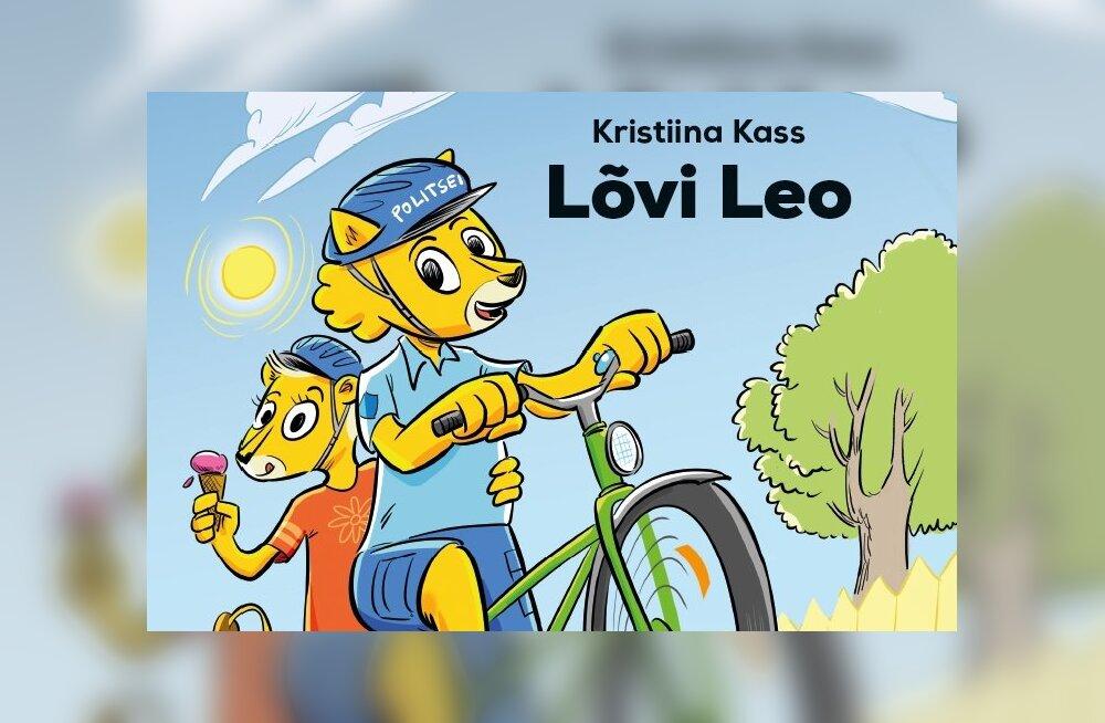 Politsei andis välja lasteraamatu politseilõvi Leo seiklustest