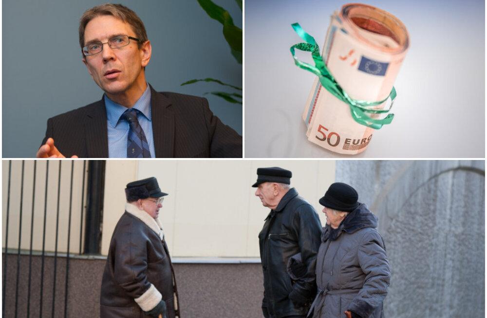 Majandusanalüütik: pensionitõus tähendaks järjekordset maksureformi, mis tekitaks ebavajalikku ebakindlust