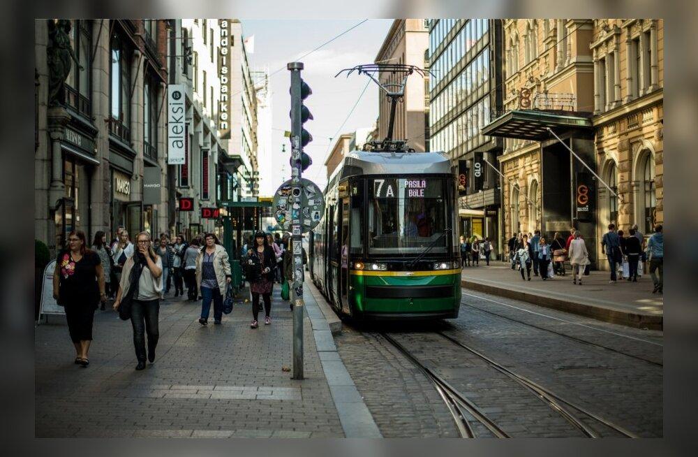 Helsingi taksojuht ei osanud viia linnapead peatänavale Aleksanterinkatule