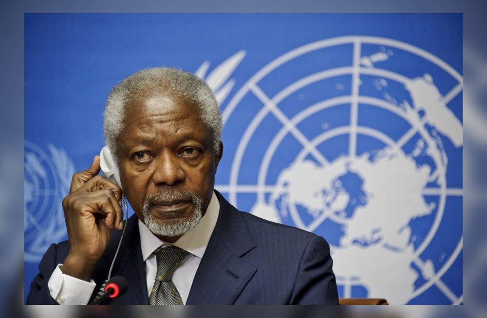 ÜRO tahab Süüriale üleminekuvalitsust ilma Assadita
