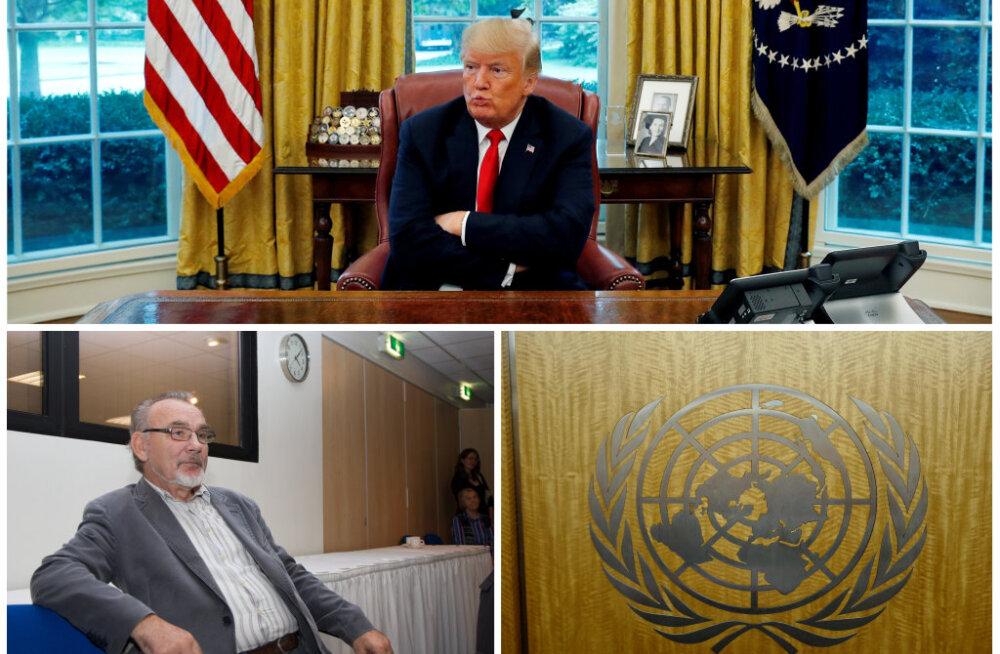 Toomas Alatalu: Trump teeb USA eesotsas seda, mida tahab ning on segi löönud ka rahvusvahelised struktuurid