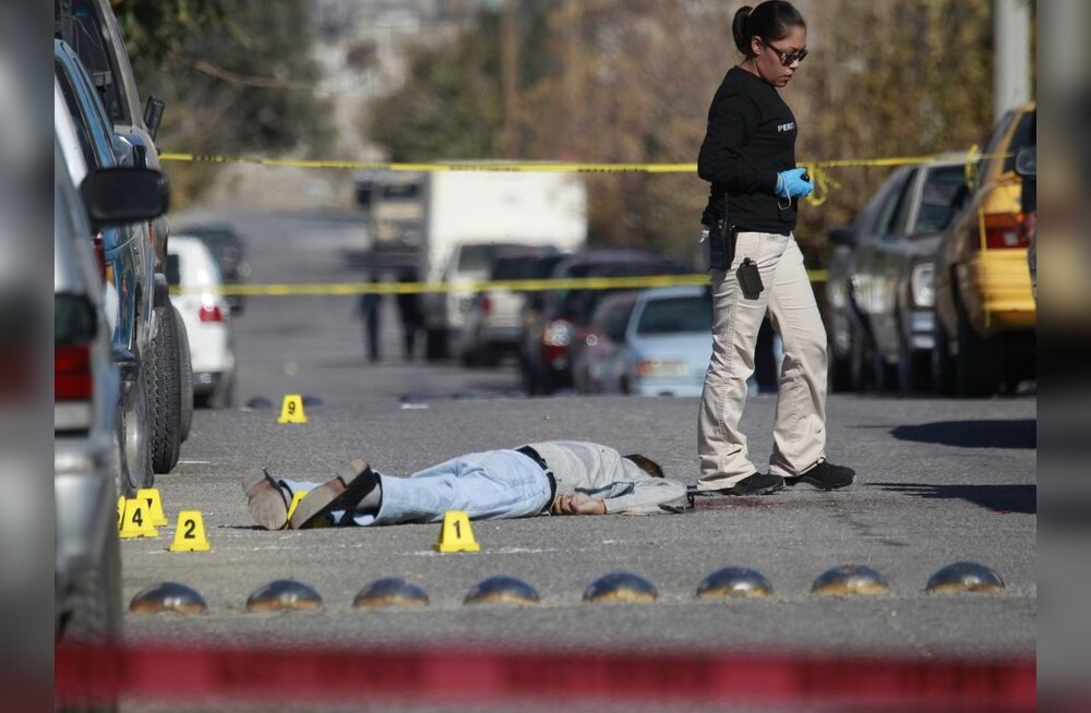 Mehhiko narkosõjas hukkunute arv ületas 30 000 piiri
