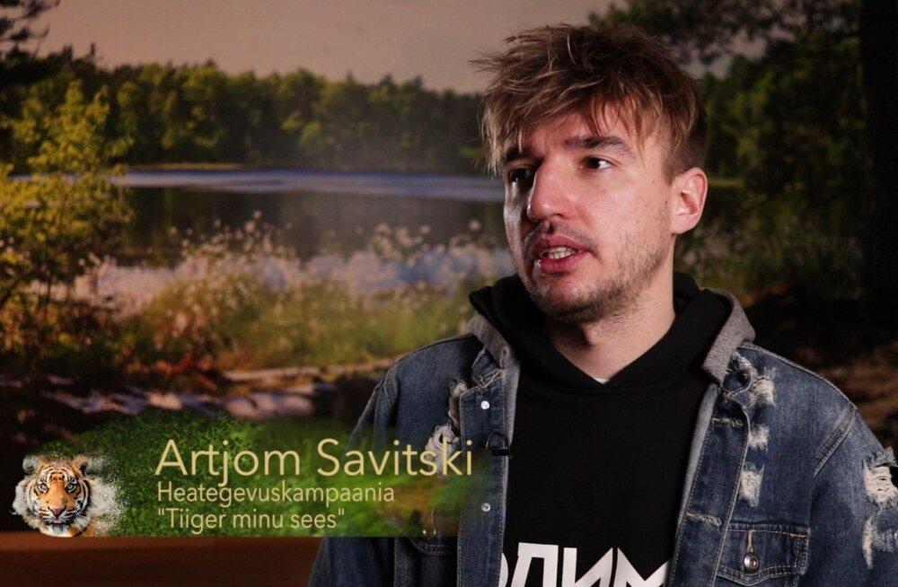 VIDEO | Tiiger minu sees: kangelaslik Artjom Savitski astus väikese poisina ka koera kaitseks välja