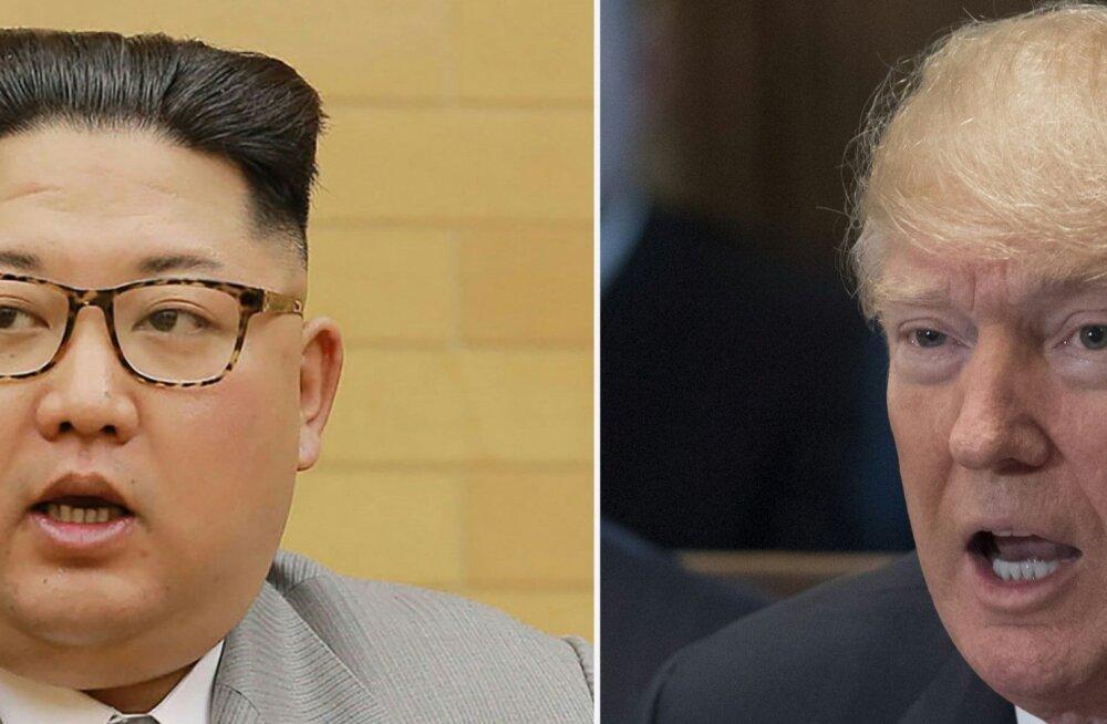 """Donald Trump ja Kim Jong-Un kohtuvad """"nii ruttu kui võimalik"""", eesmärk Korea tuumarelvavabaks muuta"""