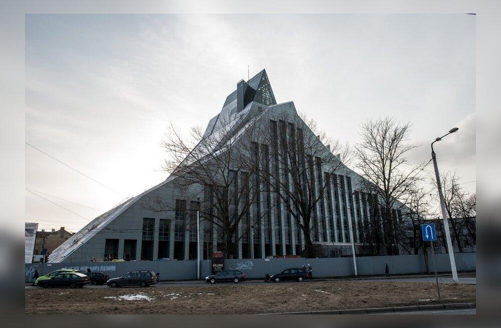 Riia uus raamatukogu