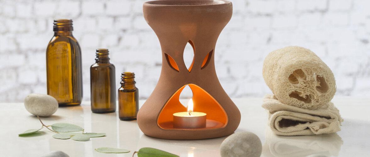 AROOMITERAAPIA │ Viis lõhna, mis aitavad kodus stressiga võidelda