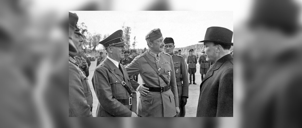 Gustaf Mannerheimi mainet ei rikkunud isegi Hitleri külaskäik