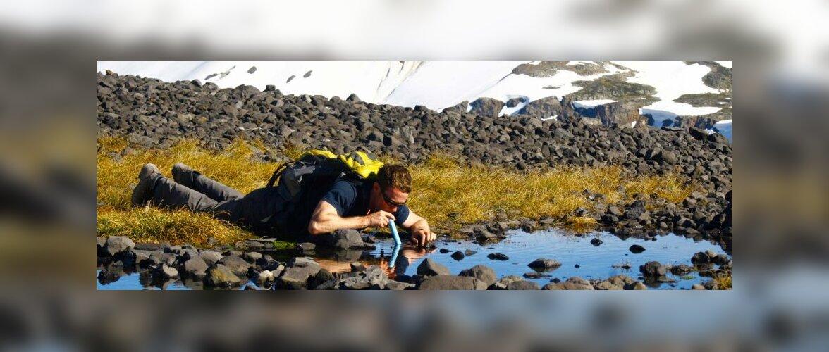 Matkanõuanne: kuidas puhastada joogivett väljaspool kodu?