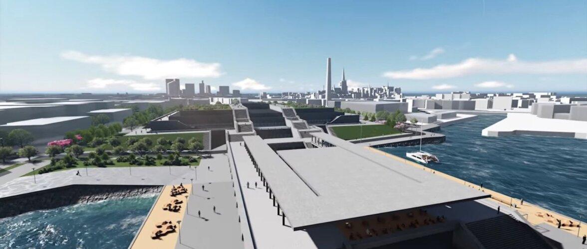 Vaata, milline hakkab tulevikus välja nägema Linnahall, Reidi tee ja Tammsaare park