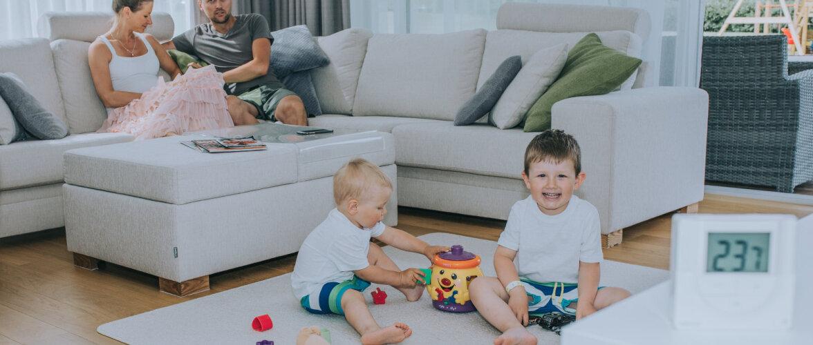 Tarbija kogemus: põrandakütte automaatika teeb elu mugavamaks ja tasub end ära