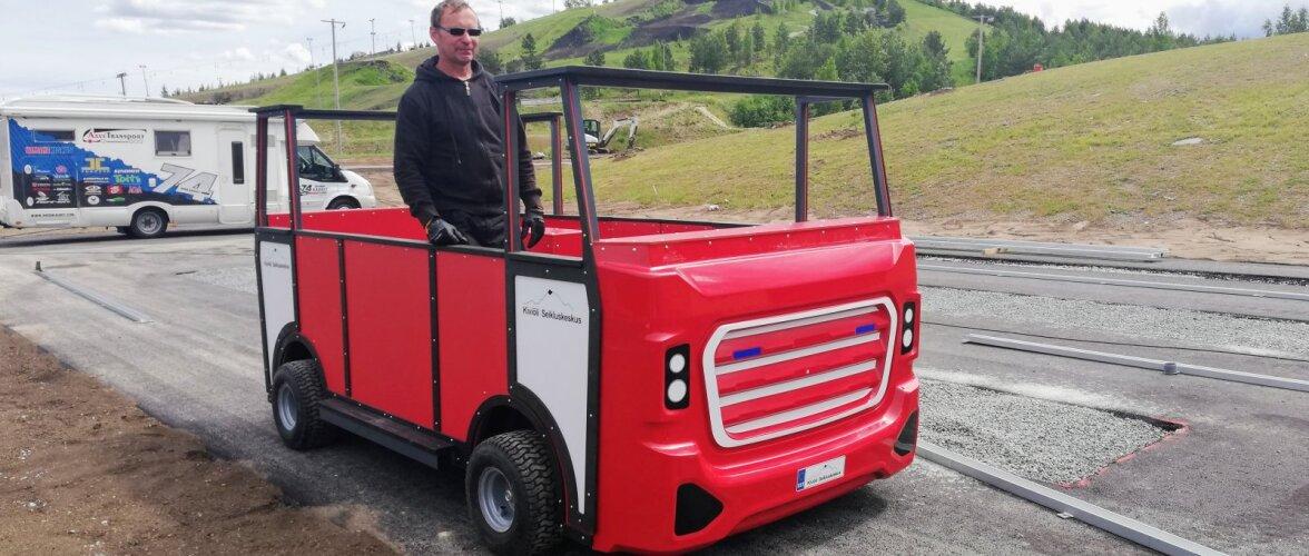 Vau: MM-medalist Are Kaurit disainis lastele kolm tuletõrjeautot