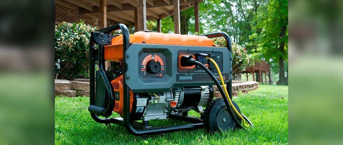 Ratastega generaatorit saab hõlpsasti paigast paika liigutada. Kuid arvestada tuleb, et selline generaaor peab töötama n-ö vabas õhus ja sellega kaasneb paratamatult ümbruskonda leviv müra.