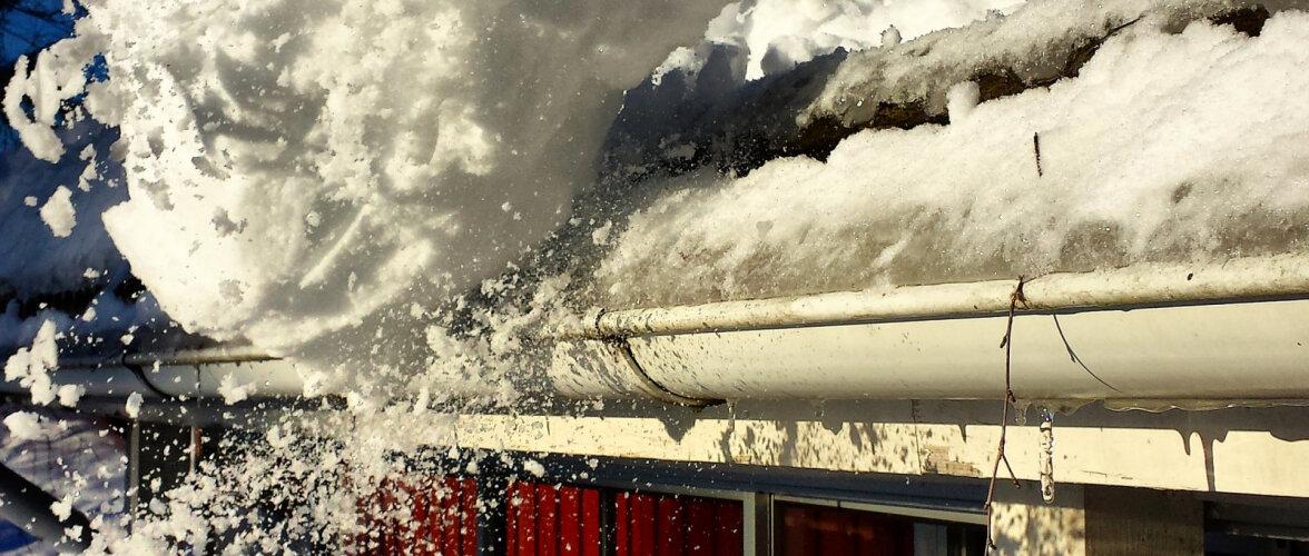 Kui paks lumekiht muutub katusele ohtlikuks?