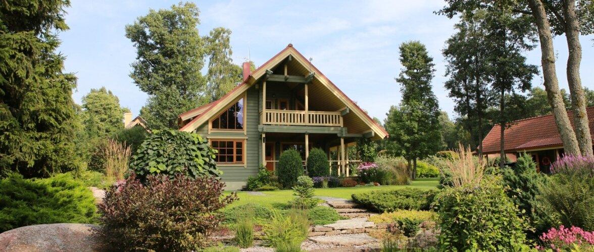 Kaunis kodu, suvemaja, Leesi, perekond Vunk