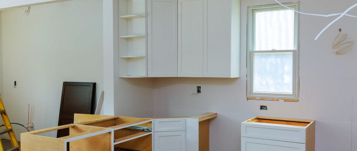 Kööki ootab ees remont. Millistele tähtsamatele kohtadele tuleb tähelepanu pöörata?