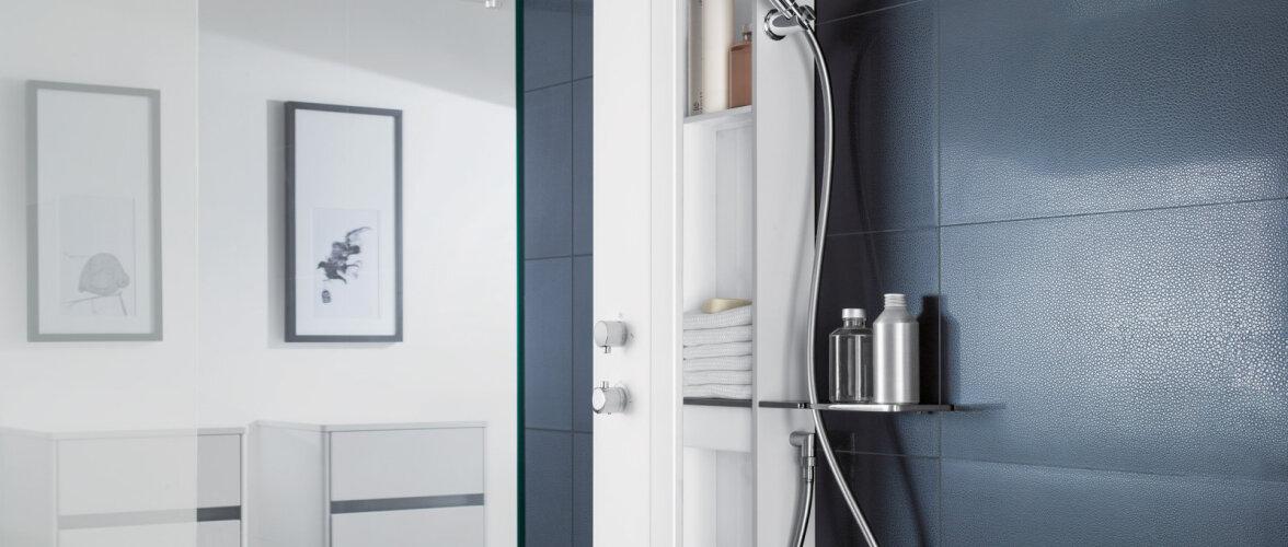 Disainiauhinnaga pärjatud dušikomplekt