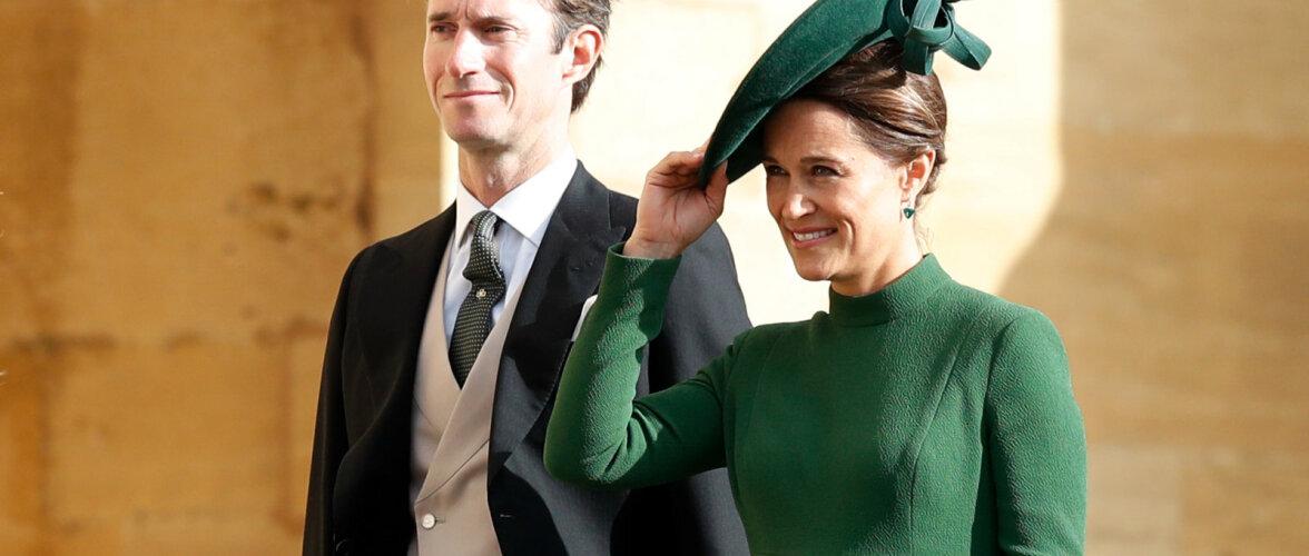 FOTOD: Kuninglikus pulmas särav Pippa Middleton on iga kell sünnitamas