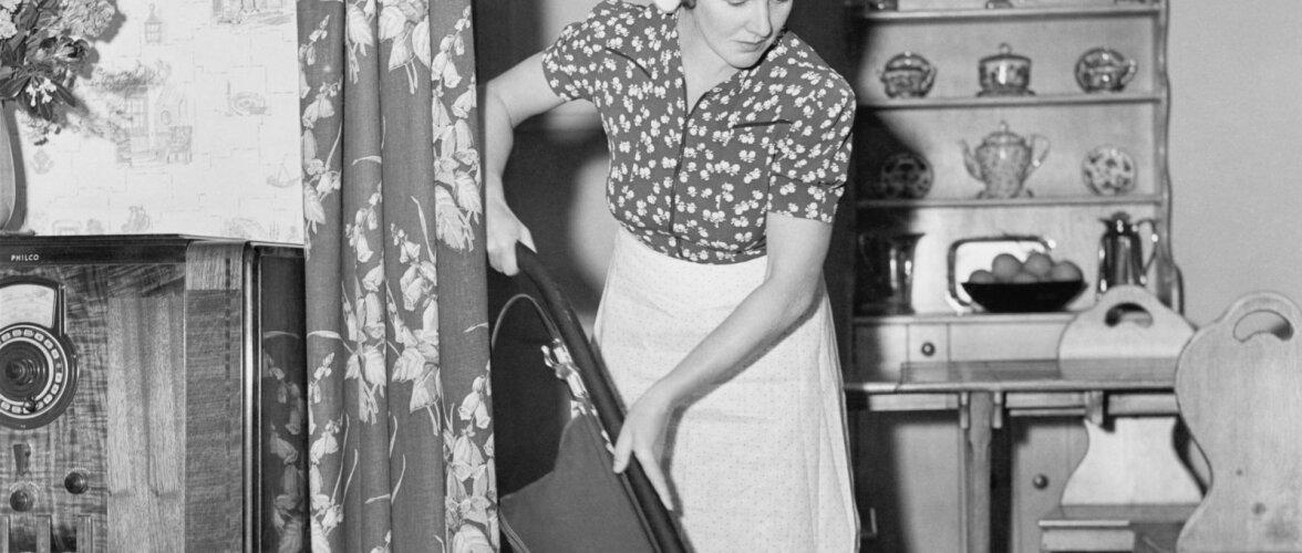 Nõukogudeaegsed nipid koduperenaisele: suurpuhastusest ja laste tööle rakendamisest