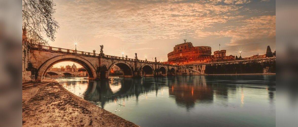 Прочь от жары: в центре Рима создадут огромную пляжную зону