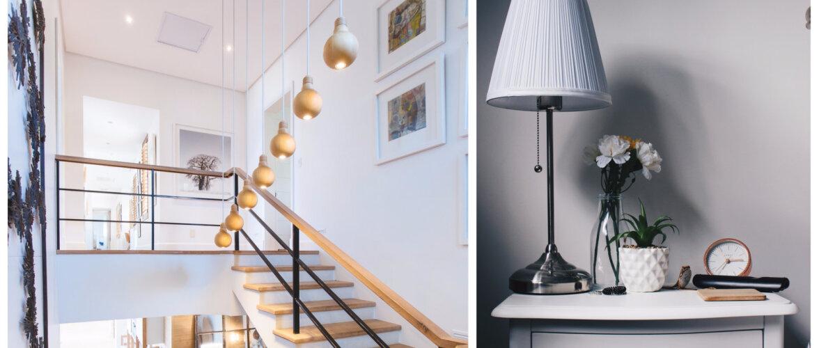 Lihtsad ja efektsed nipid kodu valgustamiseks