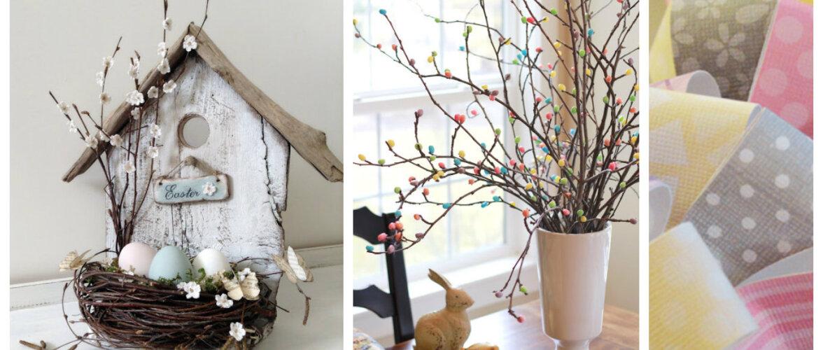 TEE ISE: rõõmsad kodukaunistused kevadpühadeks
