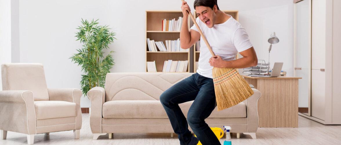 Trenni asemel — majapidamistööd, mis kulutavad kõige rohkem kaloreid