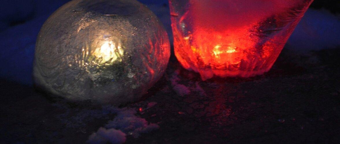 Jäälaternaile saab anda meelepärase vormi.