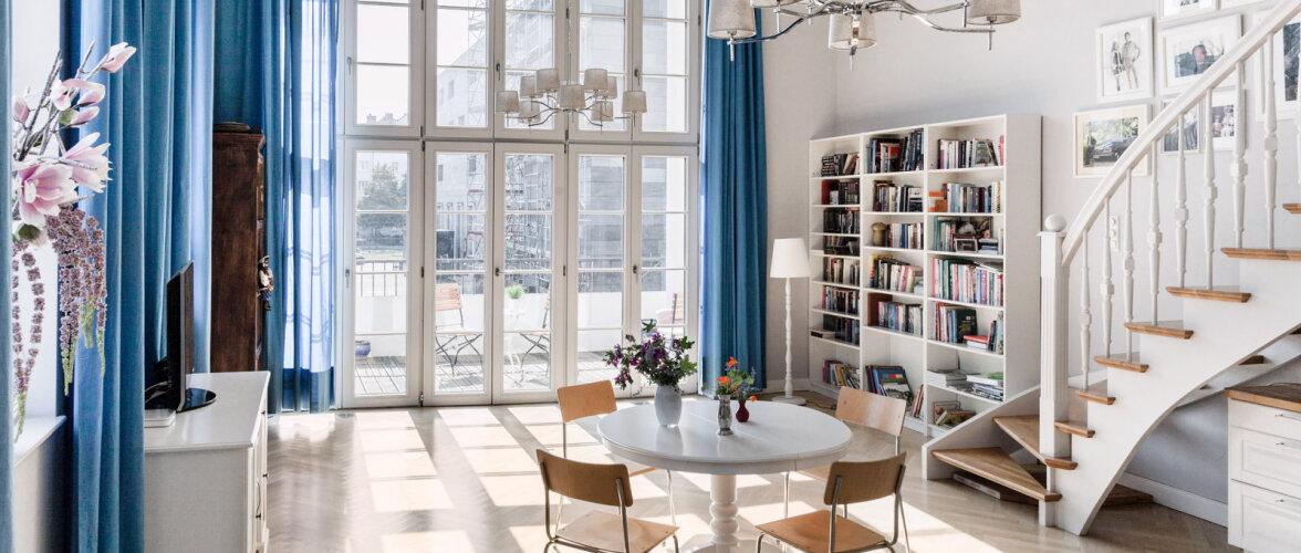 FOTOD │ Ajalugu austav kodu uues korterelamus
