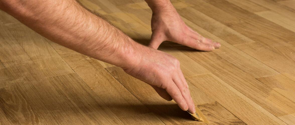Kuidas parandada parkettpõrandat ja milliseid kahjustusi on mõistlik korda teha?