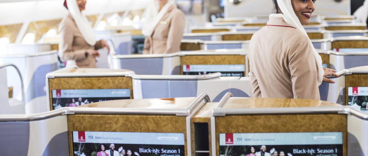 ВИДЕО: Путешествие первым классом на роскошном самолете авиакомпании Emirates