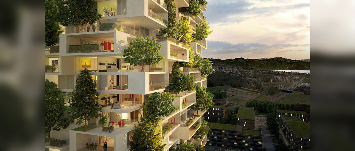 Esimene maailmas: enam kui 100 meetri kõrguse kortermaja fassaad istutatakse elavaid puid täis
