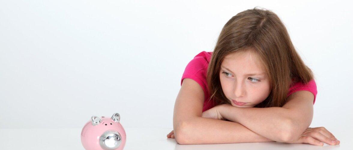 Kui palju anda lapsele taskuraha ja kas mõnikord võiks kasvatuslikel eesmärkidel ta taskurahast ilma jätta?