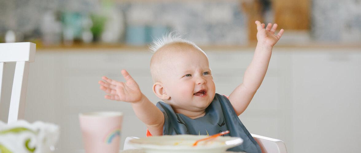 Tahad võimaldada oma beebile parimat toitu? Uued vitamiinidest pungil beebipüreed aitavad selle eest hoolt kanda!