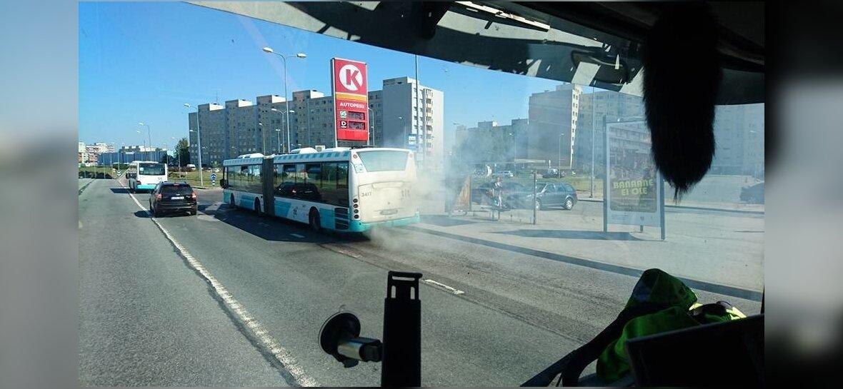 Buss nr 67 suitseb