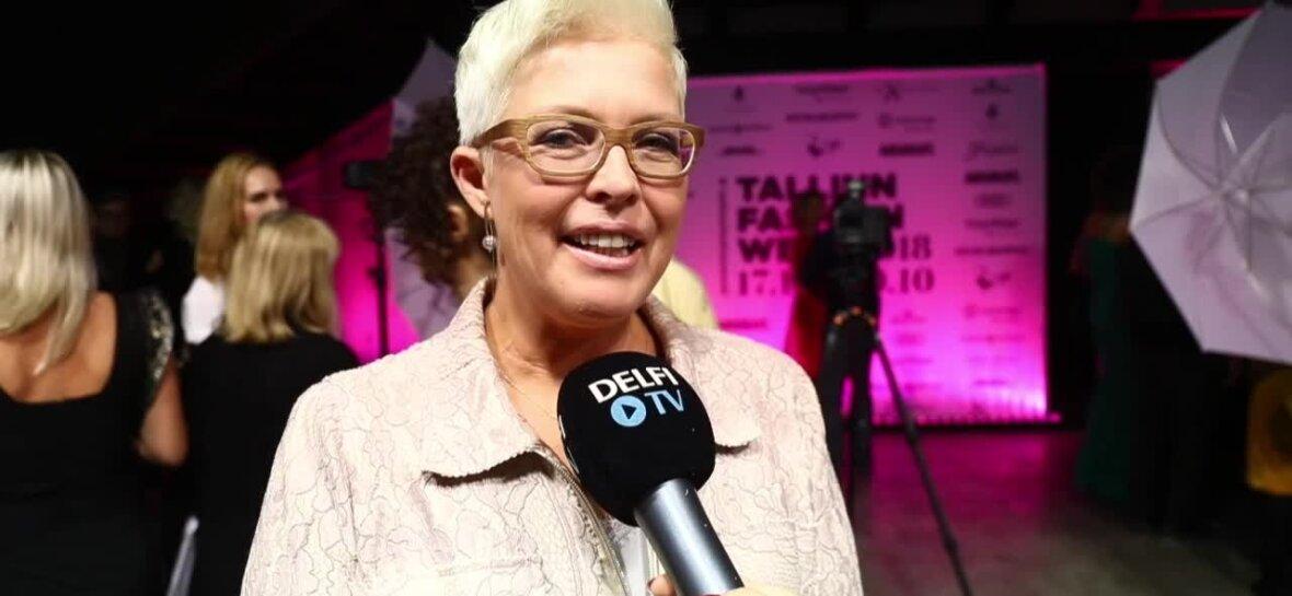 Video: Evelin Ilves üllatas Tallinn Fashion Weekil julge kostüümiga