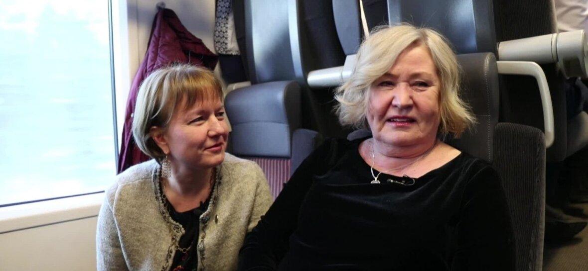 VIDEO   Rongiga Narva ja tagasi: kuidas hiiu naised enda teenetemärkide järel käisid