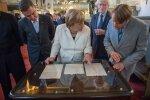Angela Merkel Toomkirikus