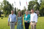 Toomas Hendrik Ilves, Ieva Ilves, Andrzej Duda, Agata Kornhauser-Duda