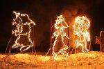 В воскресенье в Ласнамяэ пройдет самое большое в столице огненное шоу