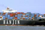 Hinge vaakuv Lõuna-Korea laevandusgigant palub pankrotikaitset