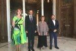 Europarlamendi saadikud Yana Toom, Tatjana Ždanoka ja Javier Couso Permuy kohtusid mullu juulis Süüria presidendi Bashar al-Assadiga (keskel).