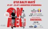 TÄISPIKKUSES | U18 korvpall: Eesti - Leedu