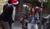 VIDEO | Jõulumeeleolus mannekeenid ehmatavad pahaaimamatuid möödakäijaid