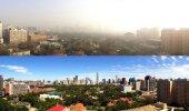 FOTOD: Pekingis peatati ajutiselt tehaste töö ning kehtestati liikluspiirang. Tulemus oli üle ootuste!