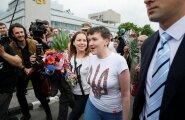 VIDEO: Savtšenko: aitäh neile, kes mulle kurja soovisid, teie kiuste jäin ellu