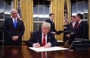 Первые распоряжения президента США Дональда Трампа