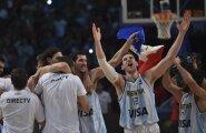 Argentina korvpallikoondis suutis kontrollmängus alistada Leedu